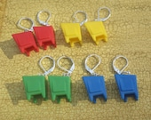Earrings- Television Set- You choose the color!