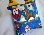 Monster Tooth Pillow - Woodland Creature, Deer, Owl, Fox