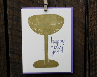 Happy New Year Holiday Cards
