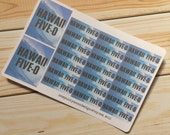 Hawaii Five-O Stickers for Erin Condren (ID402)