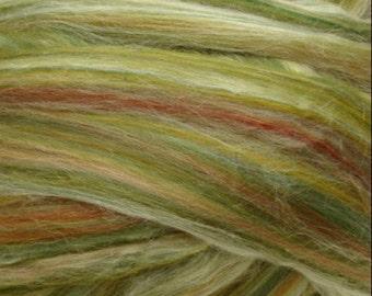 Ashland Bay Merino /Tussah Silk  70/30 Blend Green 4 Ounces