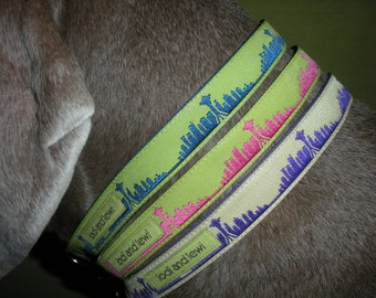 Seattle Skyline Collar for small dogs