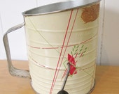vintage Bromwells wheat flour sifter