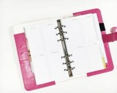Personal Size Undated Week on Two Page Vertical Personal or Compact Filofax, Medium Kikki K, planner inserts - minimalist design