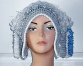 CLEARANCE Freeform Freestyle Crochet Hat with Corkscrews Price Marked is Sale Price
