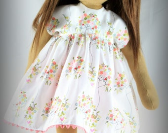 """Reggiesdolls Waldorf doll Dress for a 18"""" to 20 """" doll"""