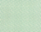 """33"""" piece/remnant- Farmhouse - Check Criss Cross in Pond: sku 20256-13 cotton quilting fabric by Fig Tree and Co for Moda Fabrics"""