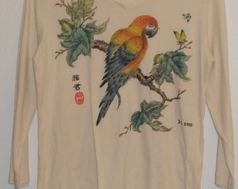 Hand-painted Long Sleeve Shirt
