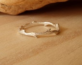 Silver Branch Ring