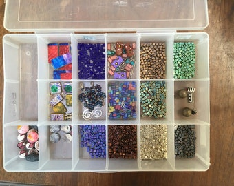 Box of Mixed Beads – Some Are Rare and Unusual!