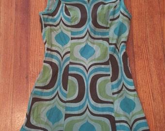 60's Mod style  mini dress