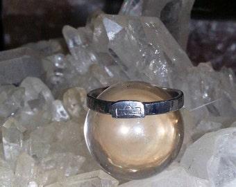 Sterling Silver Libra Ring