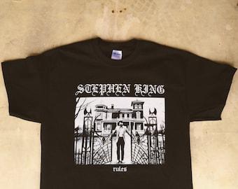 Stephen King Rules : Monster Squad / Metal Tee Shirt