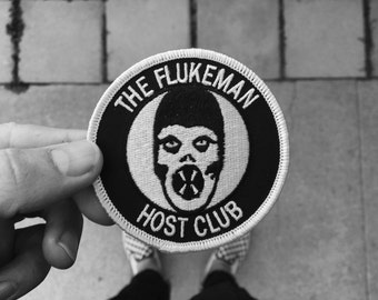 FLUKEMAN HOST CLUB : Embroidered Patch