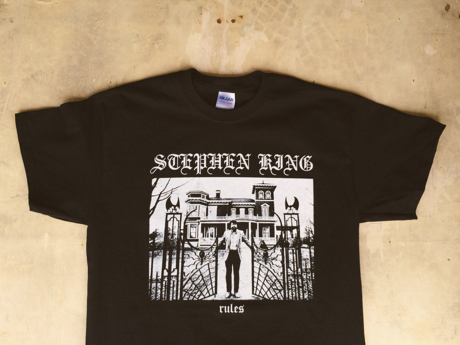 Stephen King Rules : Monster Squad / Metal Tee Shirt