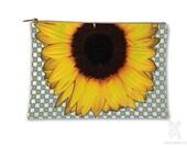 Sunflower, Makeup bag, Cosmetic Bag, Makeup Pouch, Bag, Boho bag, Purse Organizer, Travel Bag, Pencil Case, carry all pouch, carry all bag