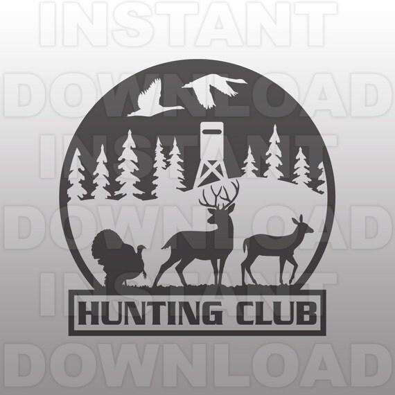Hunting Club Svg Filedeer Hunting Svgturkey Hunting