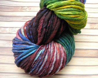 Iris You Were Here - super bulky hand dyed yarn -- In stock