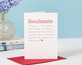 Soulmate Definition Card