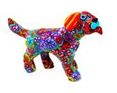 Dog Figur, Small Dog sculpture, Dog  art, Dog decor, Dog decoration, collectible, Dog, Dog figurine, animal figure, Dog lover