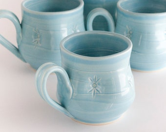 Coffee mug - Dimple - Aqua
