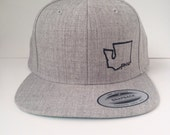 Heather Grey PNW Logo Hat