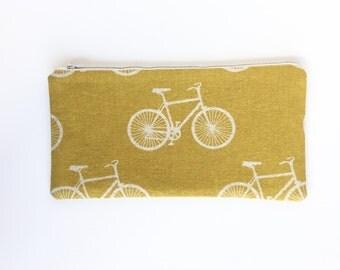 Bike zip pouch