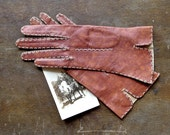 Leather Driving Gloves Size 6-1/2