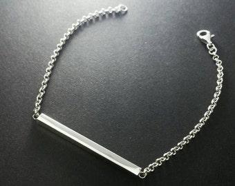 Bar bracelet Sterling Silver