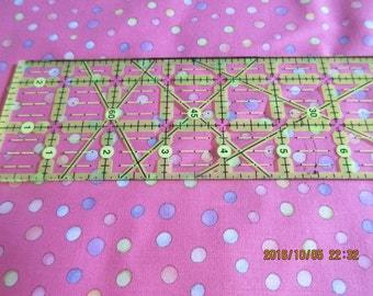 Multi-Colored Dots for Quilting Treasures