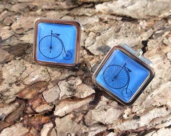 Penny Farthing Bicyle Cufflinks