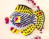 Ceramic Stoneware Fish Wall Sculpture Home Decor Made to Order