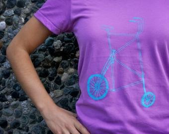 Womens Tall Bike Tee Shirt