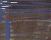 Nani Iro Kokka Japanese Fabric Saaaa Saaa rondo - yuunagi - 50cm