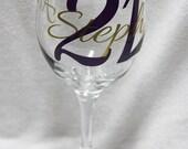 At last....21  Wine glass