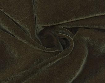 Beautiful Silk Velvet Fabric Willow