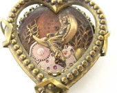 Moon Goddess Heart Steampunk