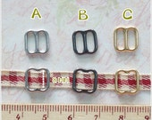 Tiny Mini Metal Buckle - 25 pcs - Doll Dress Supplies