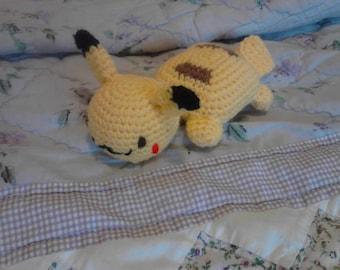 6in Pekachu Toy