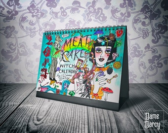 2017 Meat Cake Witch Holidays Calendar by Dame Darcy | Holidays Wiccan Pagan Witchcraft