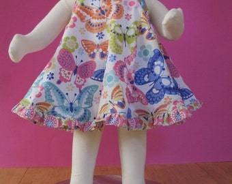 30% OFF Baby Dress Sewing Pattern - Ruffled Baby Dress - infant to 24 months PDF
