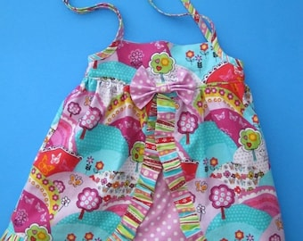 30% OFF Baby Dress PDF Pattern - Four Patterns in One from simple sundress to layered ruffled dress