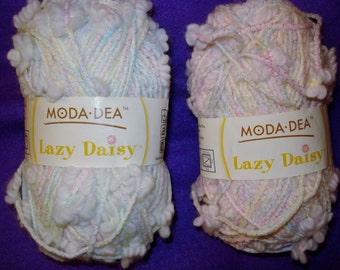 Yarn Novelty Baby Colors Moda Dea Lazy Daisy Yarn