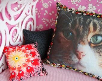 Blythe photo cushion set.
