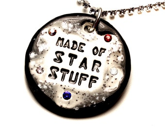 Made of Star Stuff Sparkle Surly Necklace with Swarovski Crystals