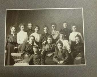 Antique Photograph 1910s church group