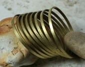 Stacking Bangle Bracelet, Solid Brass Bangle, Bangle Blanks, one piece (item ID BBRB55)