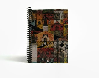 4x6 in Spiral Notebook - Blank Pages - Village Churches