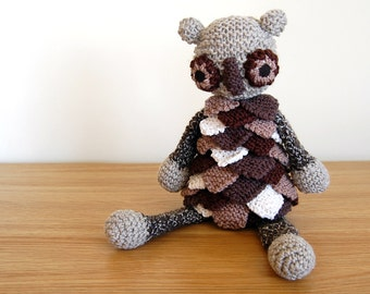 Owl Gifts, Unisex Baby Shower, Unisex Baby Gift, Knitted Toys, Knitted Animals, Softies, Toddler Gift, Owl, Unisex Baby