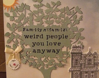 Weird Family Tree - Feel Good Home Decor